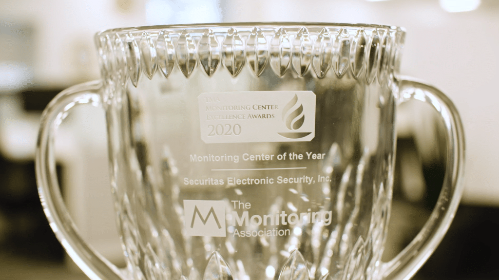 SES Awarded 2020 TMA Monitoring Center of the Year