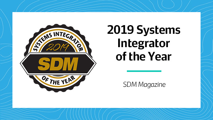SES Awarded 2019 SDM Systems Integrator of the Year  |  SDM Magazine